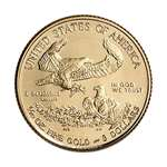2018 American Gold Eagle 1 By 10 Oz 5 Brilliant-2