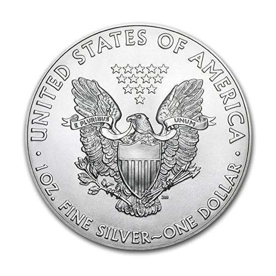 2018-1 Ounce American Silver Eagle Low Flat Rate-2
