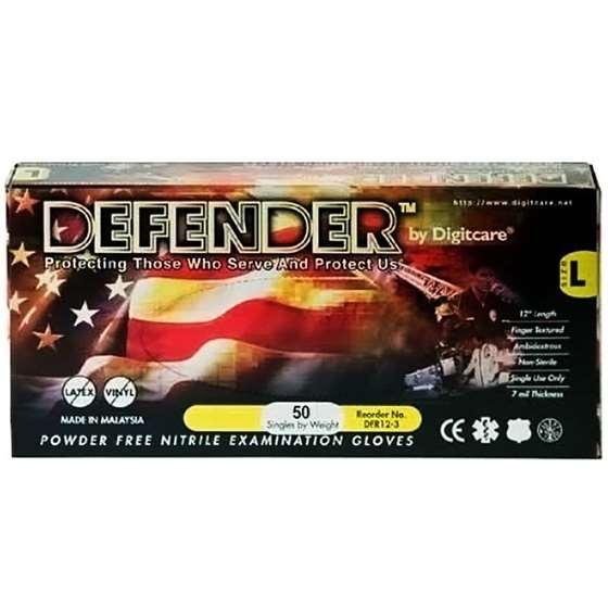 "Large 500/case Digitcare Defender 12"" Powde-2"