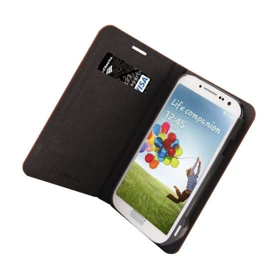 Emerald Blue Samsung Galaxy S4 Flip Cover Case A-4