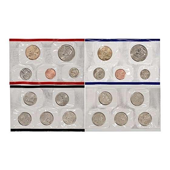 2000 P D US Mint Uncirculated Coin Mint Set Seal-2