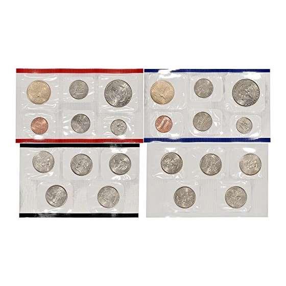2004 US Mint Uncirculated Coin Set U04 OGP-2