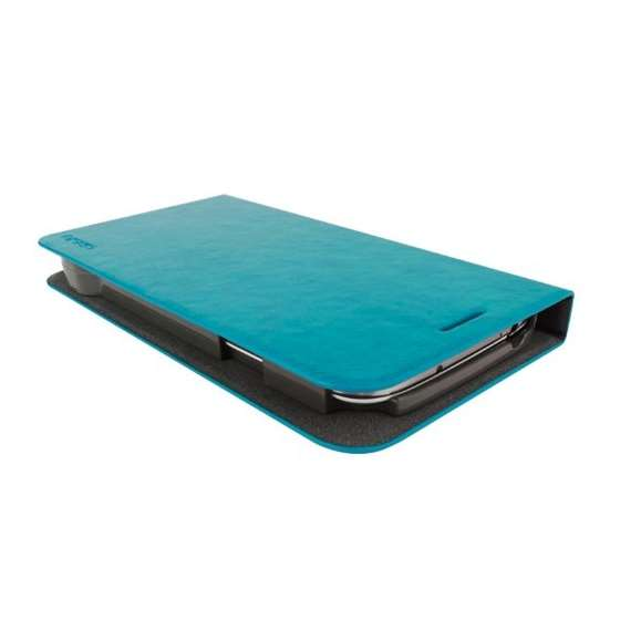 Emerald Blue Samsung Galaxy S4 Flip Cover Case A-2