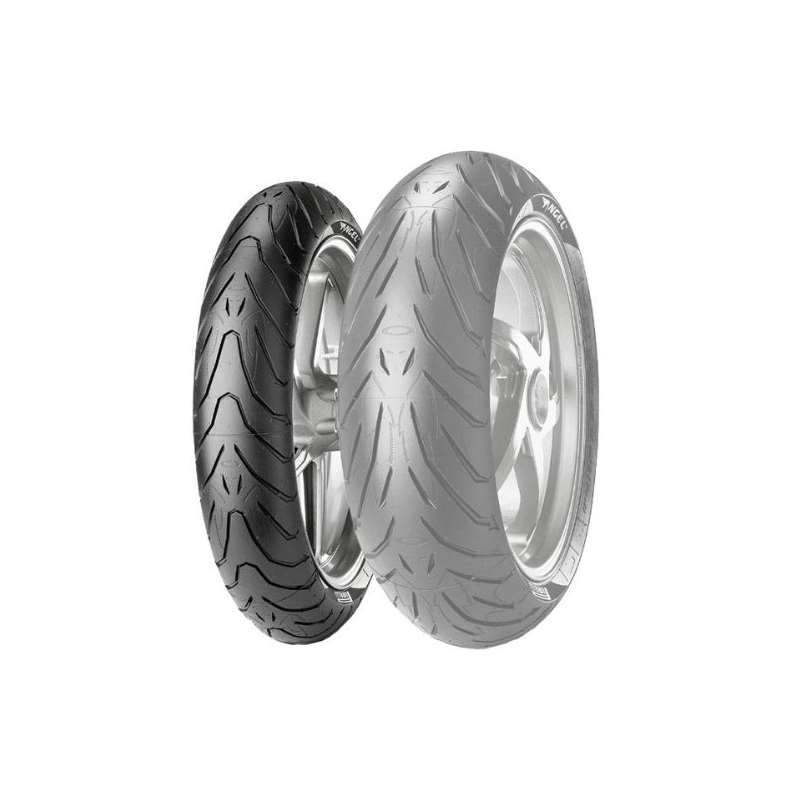 Angel ST Tire - Front - 120/70ZR-17, Position: Fro