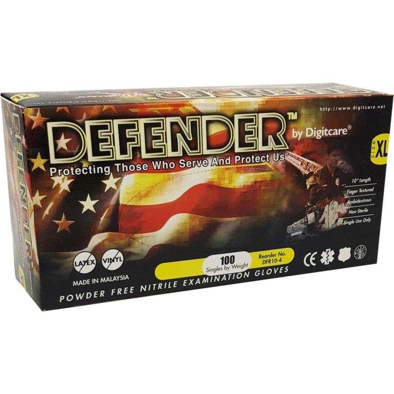 """Medium 1000/case Digitcare Defender 10"""" Powde"""