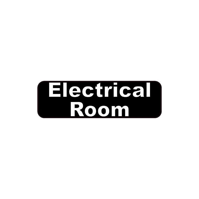 10 And X 3 And Electrical Room Business Sign Signs